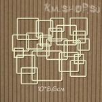 Чипборд Фоновый квадраты