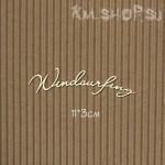 Чипборд Надпись Windsurfing №1
