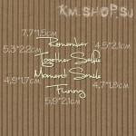 Чипборд Надписи Набор английских слов рукописный маленький