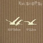 Чипборд Гуси-лебеди маленькие