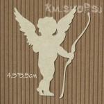 Чипборд Ангел с луком