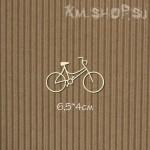 Чипборд Велосипед №4 маленький