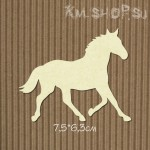 Чипборд Лошадь №1 большая