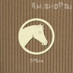 Чипборд Лошадь эмблема