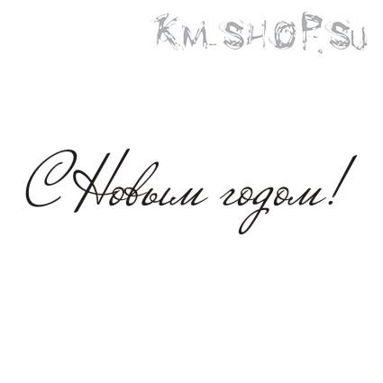 Штамп Надпись С Новым годом! № 04