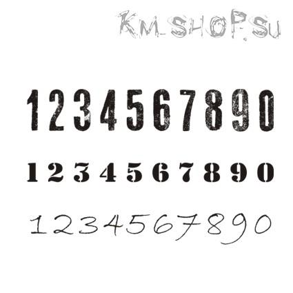 Штамп Цифры № 07