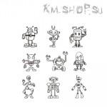 Штамп Набор Роботы № 01